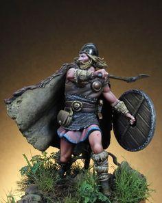 Nice! Weapons and attire are great. Hensleeran or Kroneran.