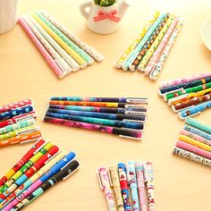 https://www.aliexpress.com/item/6-pcs-set-Cute-pens-0-38mm-Black-ink-roller-pen-Kawaii-ballpoint-School-canetas-boligrafos/32489113945.html?spm=2114.01010108.3.35.EfeIQx