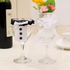 Wholesale cheap  online, material - Find best wholesale- 2pcs/set or 1pcs bridal veil or 1pcs bow tie bride & groom tux bridal veil wedding party toasting wine decor glasses party gifts at discount prices from Chinese wine glasses supplier - sophine11 on DHgate.com.