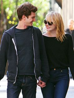 Andrew Garfield and Emma Stone. I kind of love them
