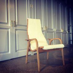 The Lamino easy chair designed in 1956 by Yngve Ekström.