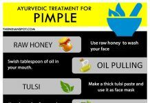 HOW TO GET RID OF A PIMPLE THE AYURVEDIC WAY