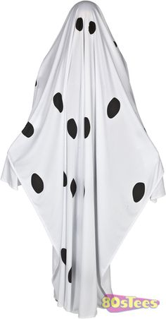 This Charlie Brown Ghost Costume is inspired by It's The Great Pumpkin Charlie Brown.   The rest of the Peanuts gang were able to successfully cut their eye holes in a sheet.  But Charlie went a littl
