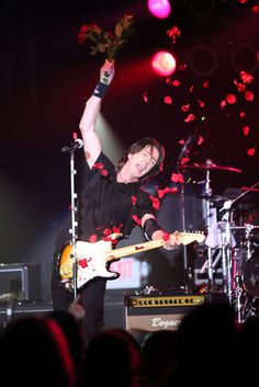 Rick Springfield and the Roses