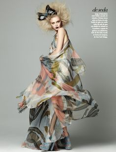 Siri Tollerød///Vogue Latin America March 2011