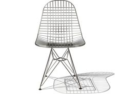 Eames DKR Wire Side Chair for Herman Miller. In 1951, Charles and Ray Eames met the challenge of making a reasonably priced, quality chair that was light yet strong. Their solution - the Eames wire chair.