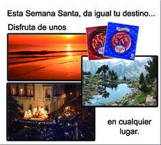 ¿Ya tienes preparado tu viaje de Semana Santa? Haznos un hueco en tu maleta ;-) http://www.elcotoramos.es/tienda/10-venta-jamon-iberico