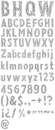 Stephanie Kubo: drawn lettering