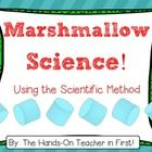 Get kids interested in the Scientific Method by using MARSHMALLOWS!