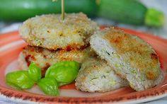 Crocchette di pollo e zucchine cotte al forno   RossellaInPadella