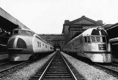 burlington route rr silver zepher train - Google Search