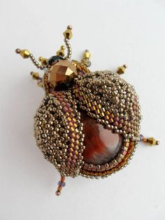 Beaded Brooch, Beaded Earrings, Beaded Jewelry, Handmade Jewelry, Inkle Weaving, Bead Weaving, Fabric Beads, Fabric Jewelry, Seed Bead Patterns