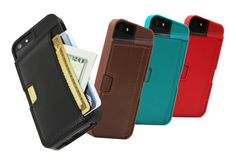 iPhone Wallet Case: Q Card Case for iPhone 5 Iphone Wallet Case, Card Wallet, Iphone 5s, Iphone Cases, Card Case, 5s Cases, Must Have Gadgets, Technology Gifts, Client Gifts