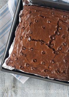 Gluten-Free Goddess Recipes: Dark Chocolate Brownies- The Best Gluten-Free Reci...