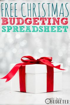 the christmas budget planner - Good Cheap Christmas Gifts