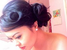 Hair on Pinterest | Wedding Hairs, Updo and Vintage Hair