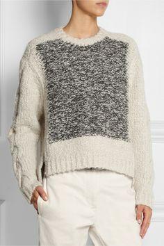 Isabel Marant|Sao alpaca and wool-blend sweater|NET-A-PORTER.COM