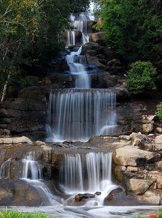 Cascading Waterfall, Robinson, Pennsylvania