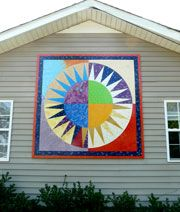 Starlight's pattern barn quilt