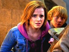Ron and Hermione in Final Battle