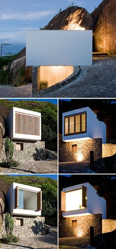 Like the combination of finishes... Couñd even work as a smaller seperate building granny flat of sorts