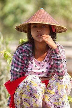 Girl from Amarapura, Myanmar (Central Burma)