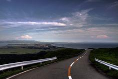 View from Mt. Kanpu, Oga, #akita #japan