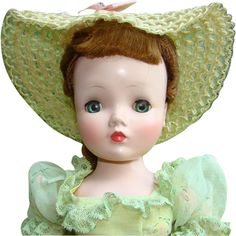 C1958 Cissy Doll in Afternoon Garden Party 2142 Madame Alexander Red Hair