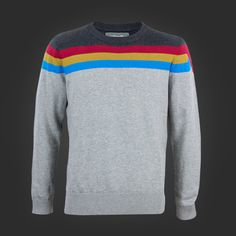 Welovefine:Wesley Tricolor Stripe Sweater