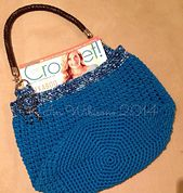 Ravelry: ICE Tube Yarn Crochet Bag pattern by Iin Wibisono