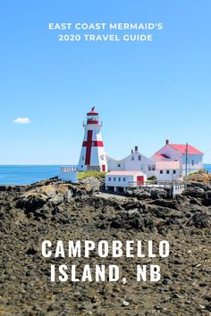 From picture-perfect lighthouses—only accessible by foot at low tide—to dreamy beaches sprinkled with seaglass, to whales and coastal creatures around every corner. Campobello Island is a destination that everyone should experience at some point in their life.  #travelNewBrunswick #NewBrunswick #NBStaycation #IslandHopping #islandvacation #TravelCanada #CampobelloIsland #TourismNewBrunswick East Coast Canada, Ontario Travel, Canadian Travel, Time In The World, New Brunswick, Summer Travel, Staycation, Whales, Lighthouses