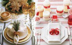 Veja como fazer uma belíssima decoração para a mesa de Natal: Fotos, ideias e sugestões de decoração para a ceia Natalina.