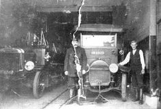 Rathmines Fire Station, Dublin 1923. Dublin Street, Dublin City, Cork Ireland, Dublin Ireland, Old Pictures, Old Photos, Vintage Photos, Old Irish, Photo Engraving