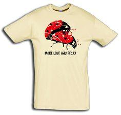 """T-Shirt men """"make love"""" - FREIE FARBAUSWAHL  von MAD IN BERLIN auf DaWanda.com"""