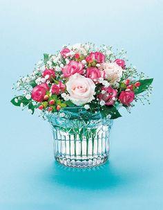 ガラスの花瓶 フラワーベース / バラ ローズボール #ガラス #花瓶 #フラワーベース #ローズボール