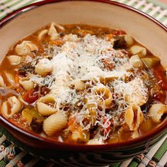 Minestrone soup in a crock pot and many more yummy crock pot recipes! Crock Pot Recipes, Crock Pot Soup, Crock Pot Slow Cooker, Crock Pot Cooking, Slow Cooker Recipes, Soup Recipes, Cooking Recipes, Crock Pots, Chef Recipes