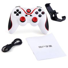 Original Gen Game T3 Wireless Bluetooth Gamepad Remote Control Joystick PC Game Controller for Smartphone/Tablet PK S3 Game Pad