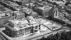 Palacio de Bellas Artes en el año de 1935