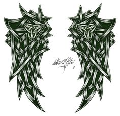 celtic wing artwork - Google Search