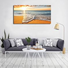 SUMGAR Sea Lift Art Prints Turquoise Sea Turtle Canvas Wall Art Ocean Theme Painting Coastal Beach Artwork Sear Animal Pictures Framed Home Decor for Living Room Bathroom Bedroom 40x80cmx3 Pieces