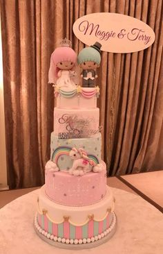 1 Cake Baby, Little Twin Stars, Cute Cakes, Sanrio, Hello Kitty, Twins, Friends, Food, Amigos
