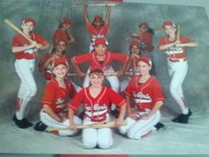 Tap group photo. Baseball themed. I am on the far left on my knees