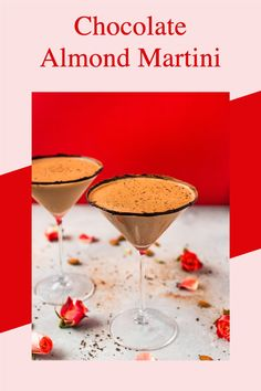 Chocolate Almond Milk, Chocolate Martini, Ice Milk, Holiday Drinks, Plant Based Recipes, Namaste, Healthy Dinner Recipes, Dairy Free, Sweet Treats