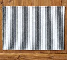 Wheaton Stripe Placemat, Set of 4 - Navy