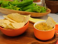 Slow-Cooker Chile Con Queso Recipe : Katie Lee : Food Network - FoodNetwork.com