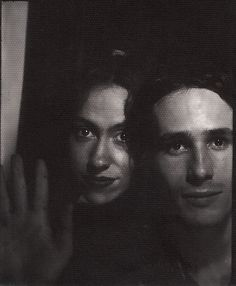 "previous poster: ""me and jeff buckley, smart bar, chicago"" LOOK AT THE LIGHT IN THOSE EYES...."