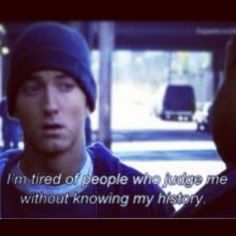 eminem    quote from 8 mile.