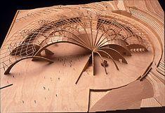Pilgrimage Church of Pedro Pio, 1995, Model - Renzo Piano http://kubuildingtech.org/sarcweb/Assemblages00/dieste/htmlfiles/related/htmlfiles/piano.htm