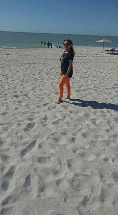 Aqui Mosi en Clearwater beach. Diciembre 31, 2016.