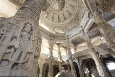 Jain Temple, Ranakpur, India, Asia